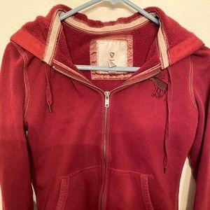 Vintage Abercrombie zip hoodie